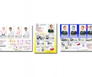 Customisable Multi Pose Proof Cards